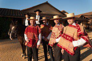 Alfredo Moreno y su familia, unidos en las tradiciones