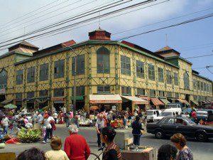 Mercado Cardonal, Barrio Almendral