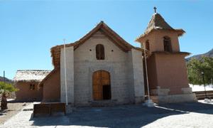 Iglesia San Francisco de Asís de Socoroma/ Fundación Altiplano