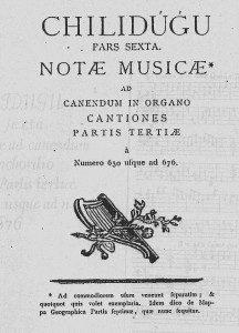 chilidugu Página de la obra del padre Bernardo de Havestadt,