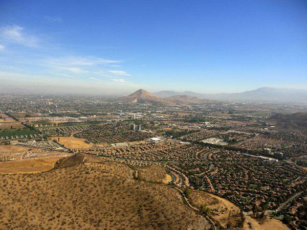 foto panoramica de huechuraba