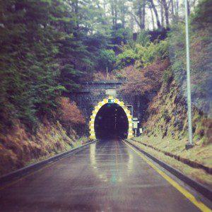 Túnel Las Raíces en la actualidad. ©instagram.com/jpard0