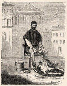 motero siglo XIX