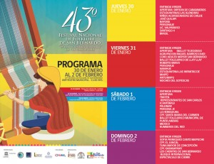 Programa 43 festival del folclore de san bernardo 2014