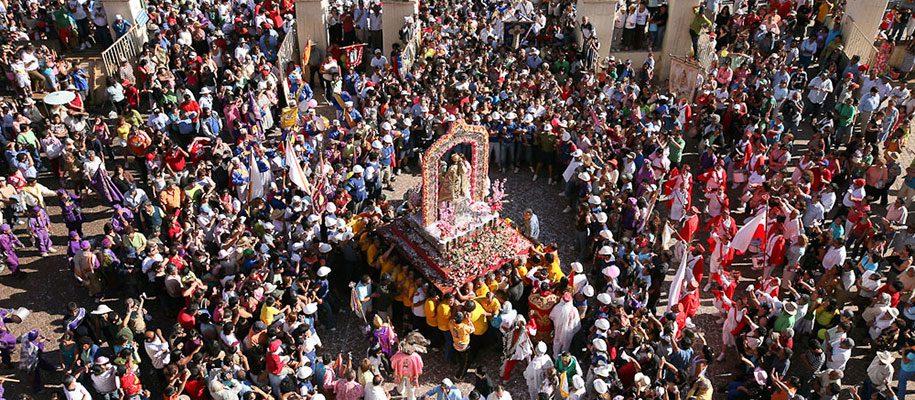 procesion de la fiesta de andacollo foto de tito alarcon