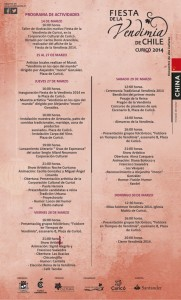 programa oficial fiesta de la vendimia 2014