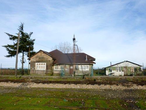 estación de trenes de alerce