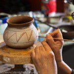 Ulises Lopez reproduccion de ceramica diaguita y precolombina