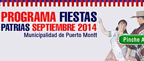 programa de fiestas patrias puerto montt 2014