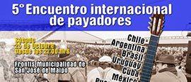 5º Encuentro Internacional de Payadores en San José de Maipo