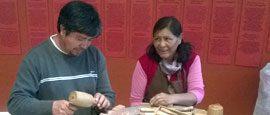 encuentro de artesanos de culturas originarias