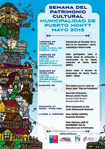 semana del patrimonio en puerto montt