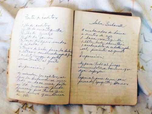 el olvido de las recetas de la abuela
