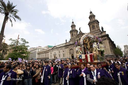 procesion del señor de los milagros 2015