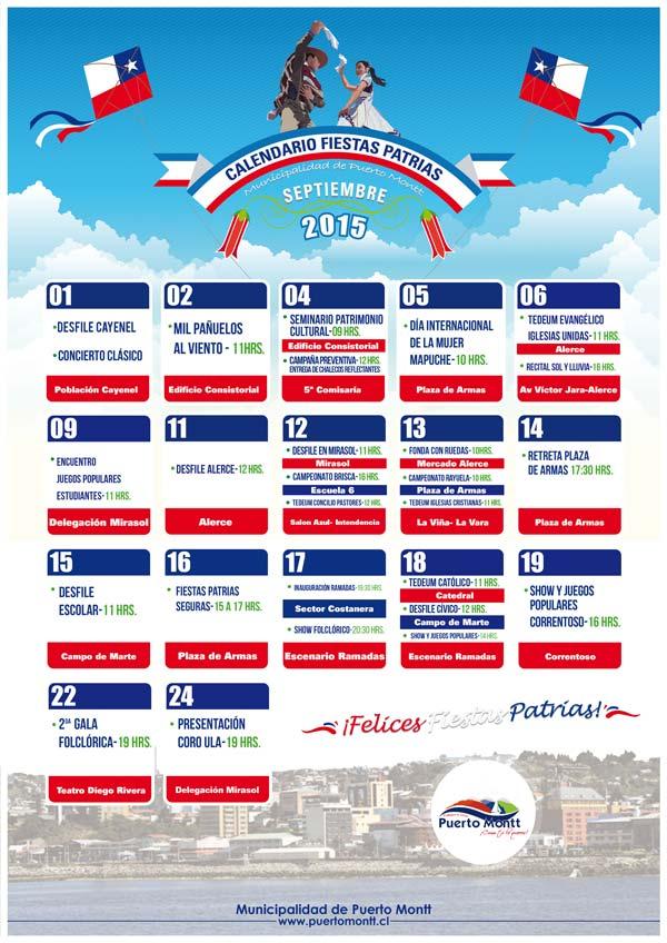 programa fiestas patrias puerto montt