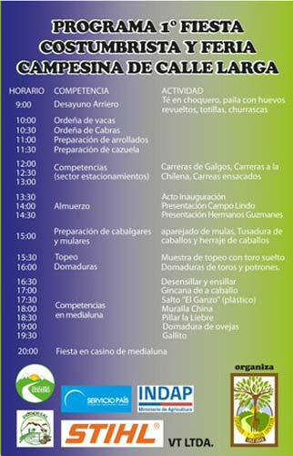 1ª Fiesta Costumbrista y Feria Campesina de Calle Larga