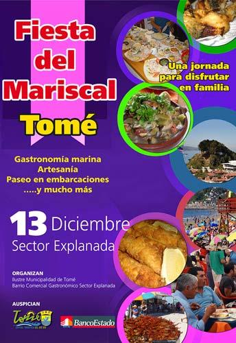 Fiesta del Mariscal en Tomé