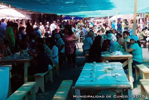 Cocimiento de Cordero más Grande de Chile en Cunco