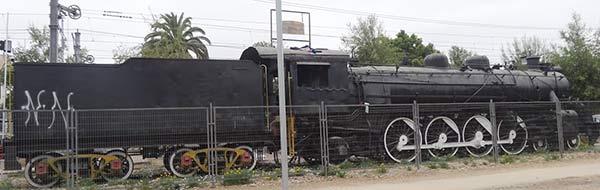 locomotara de villa alemana