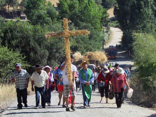 Fiesta de la Trilla y Bendición de Espigas en Llahuén, Portezuelo