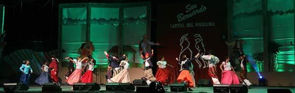 Más de 60 mil personas asistieron a la última versión del Festival Nacional del Folklore de San Bernardo