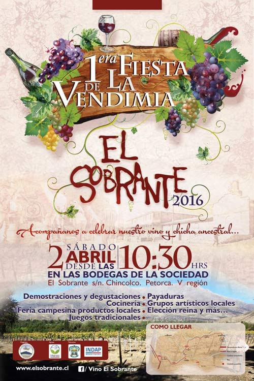 "Fiesta de la Vendimia ""El Sobrante"", Petorca"