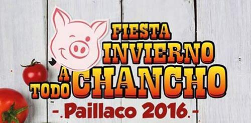 """Fiesta Costumbrista """"A Todo Chancho"""" en Paillaco"""
