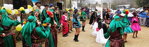 Fiesta de San Cristóbal en Peñuelas, Valparaíso