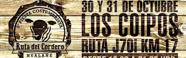 La 3ª Fiesta Costumbrista de la Ruta del Cordero de Hualañé este año se realizará los días 30 y 31 de octubre.