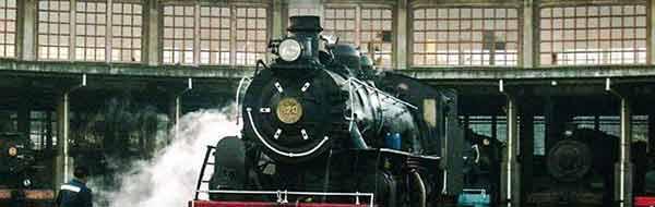 Tren a Vapor Concepción Laraquete