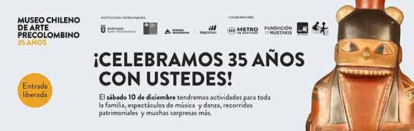 Museo de Arte Precolombino celebrará 35 años con variadas actividades