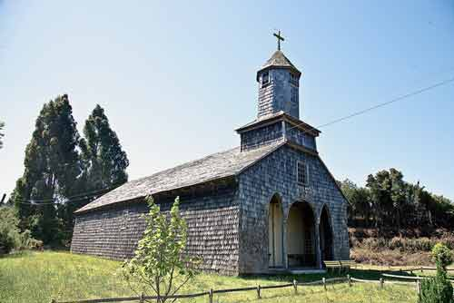 Iglesias Nuestra Señora del Carmen de Quetalco dalcahe chiloe