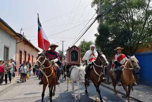 Virgen del Carmen Realiza Cruce de Los Andes al igual que Ejército Libertador hace 200 años