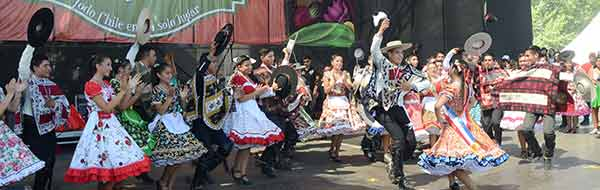 Fiesta Costumbrista Expo Paine Rural 2017