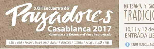 XXIII Encuentro Internacional de Payadores