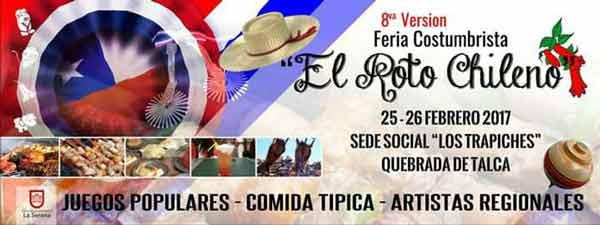 Fiesta Costumbrista el Roto Chileno