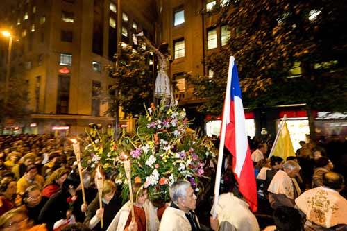 procesion del cristo de mayo 2017