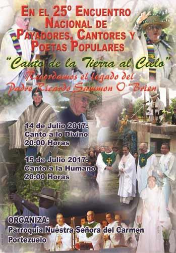 25° Encuentro de Payadores, Cantores y Poetas Populares - Portezuelo 2017