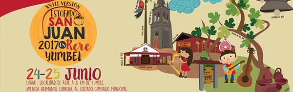 Fiesta Costumbrista Estofado de San Juan en Rere, Yumbel