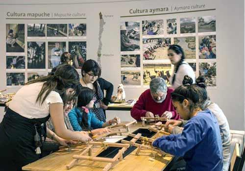Talleres Gratuitos de Textilería Mapuche en el CCPLM