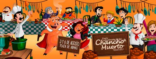 fiesta del chancho muerto 2017 en talca