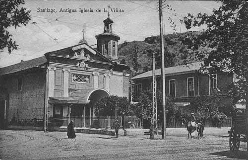 """Comienza Restauración de Capilla """"La Viñita"""", santuario de monserrat"""