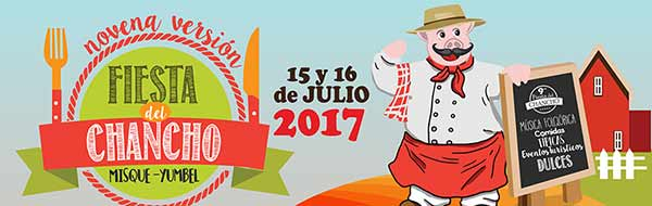 fiesta costumbrista del chancho en misque yumbel 2017