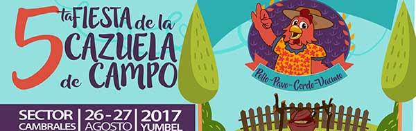 5ª FIESTA DE LA CAZUELA DE CAMPO DE CAMBRALES – Yumbel