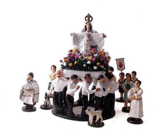 Exposición Religiosidad Popular en visiones de la Loza Policromada de Talagante en el Museo de Arte Colonial San Francisco