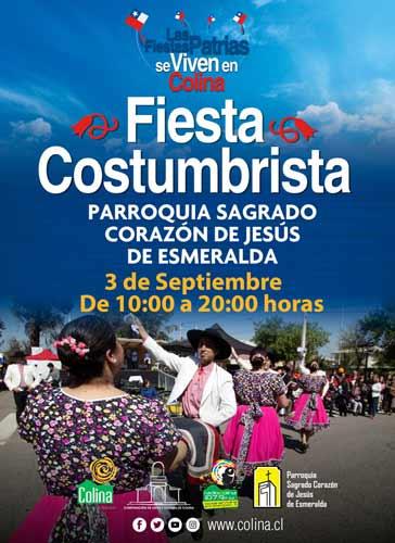 estas Costumbristas en Esmeralda y Piedra Roja, comuna de Colina