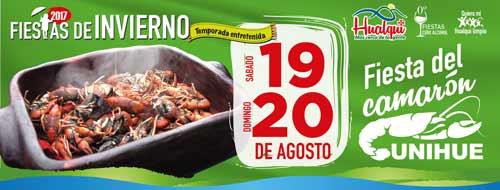 Fiesta Del Camarón Unihue 2017