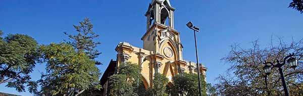 Municipalidad de Santiago restaurará Iglesia San Saturnino en Barrio Yungay