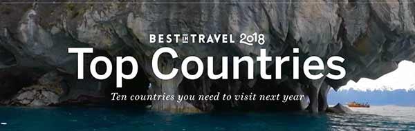 Lonely Planet: Chile es el Destino Nº 1 para Visitar el 2018