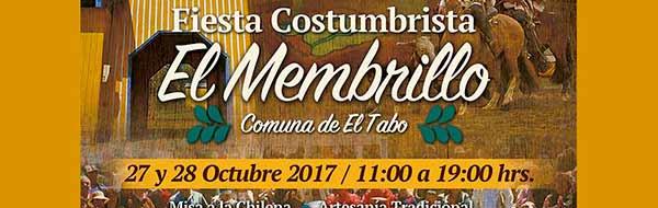 27 y 28 de octubre se realizará la tradicional Fiesta Costumbrista El Membrillo